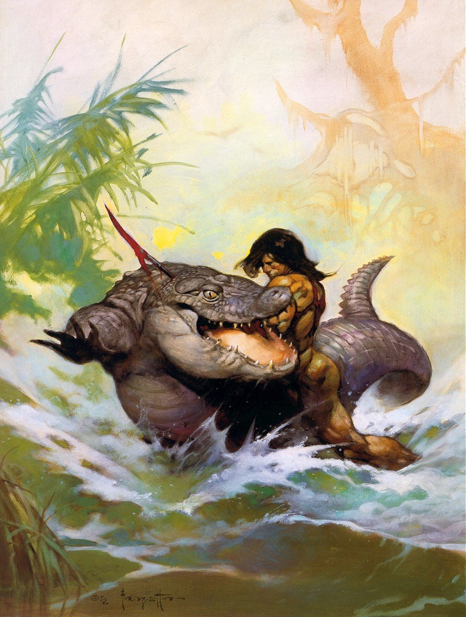 Image result for tarzan at the earth's core cover art